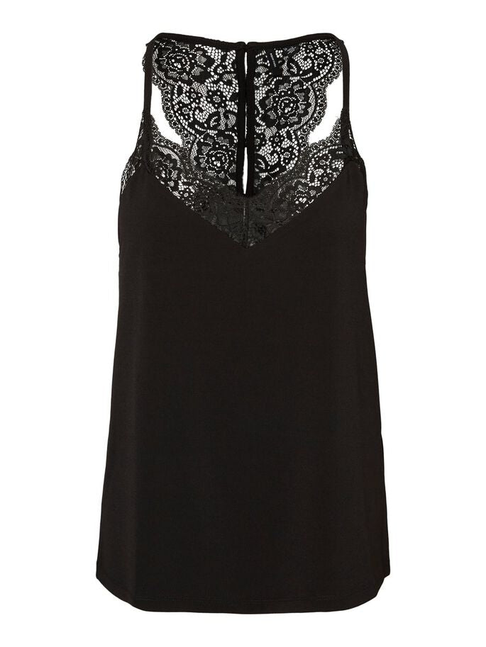 Vero Moda Ana Lace Top - Sort
