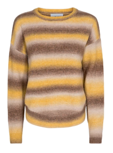 Billi Pullover  -  Brown yellow