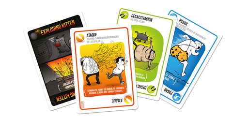 Exploding Kittens Juego - Biels Online