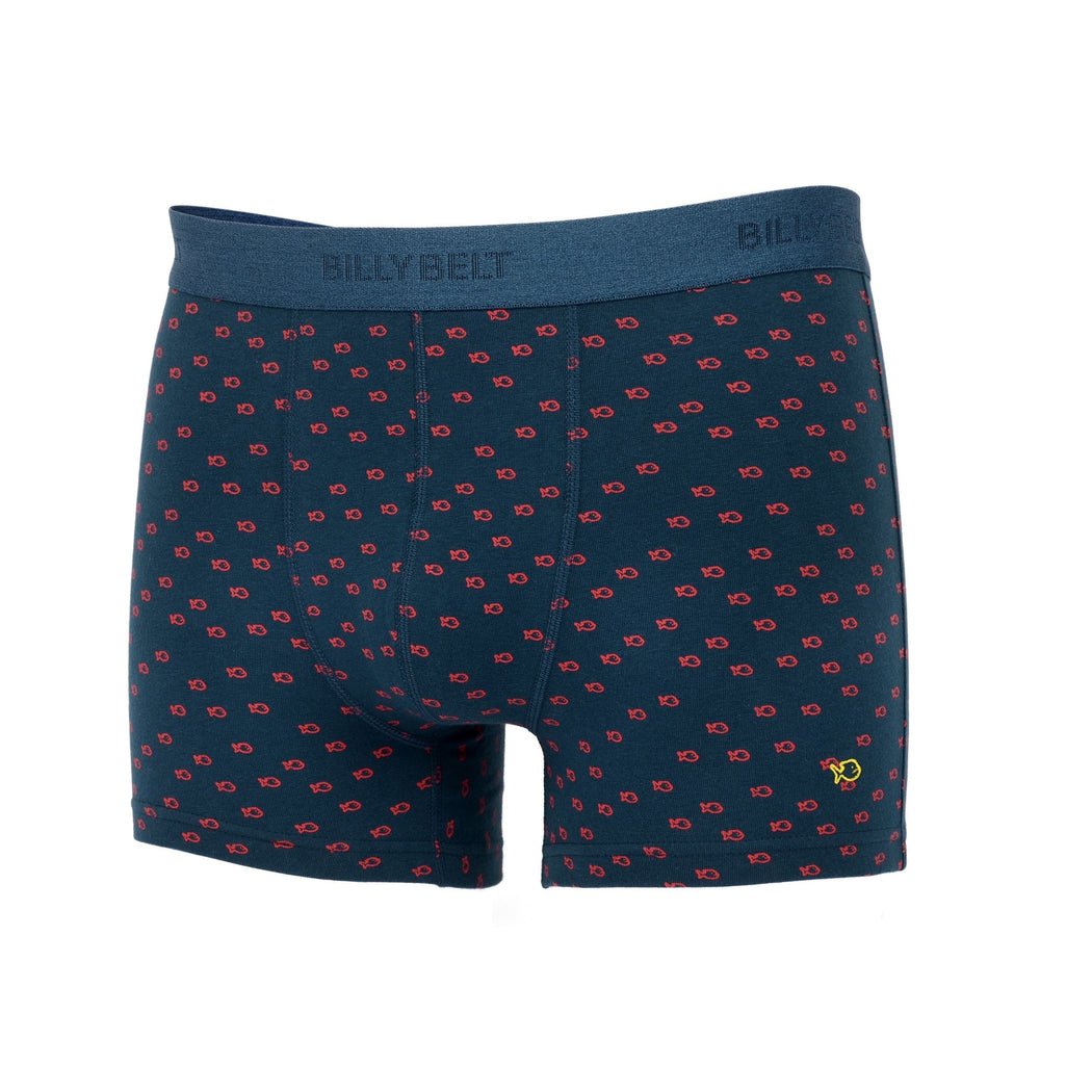 Boxer Organic Blue Red - Biels Online