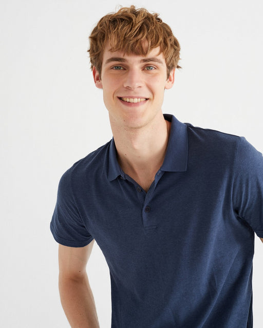 Polo Hemp Navy - Biels Online