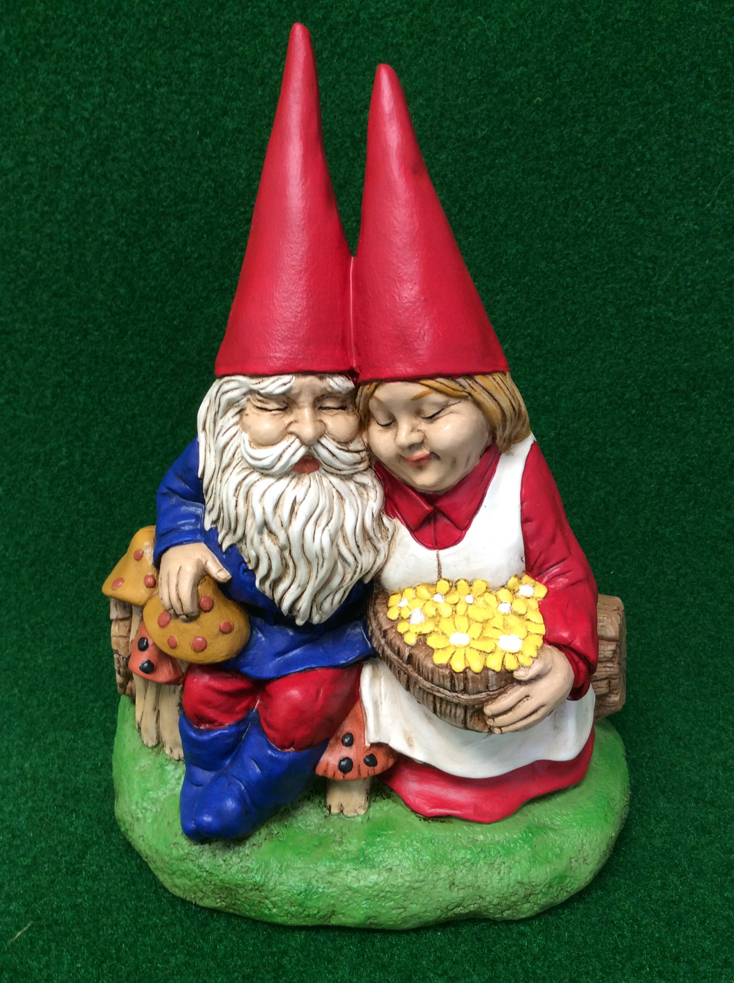 Friendly Gnome Couple