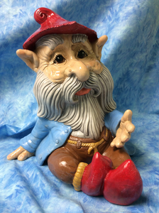 "Woodland ""Let's Chat"" Man Gnome"