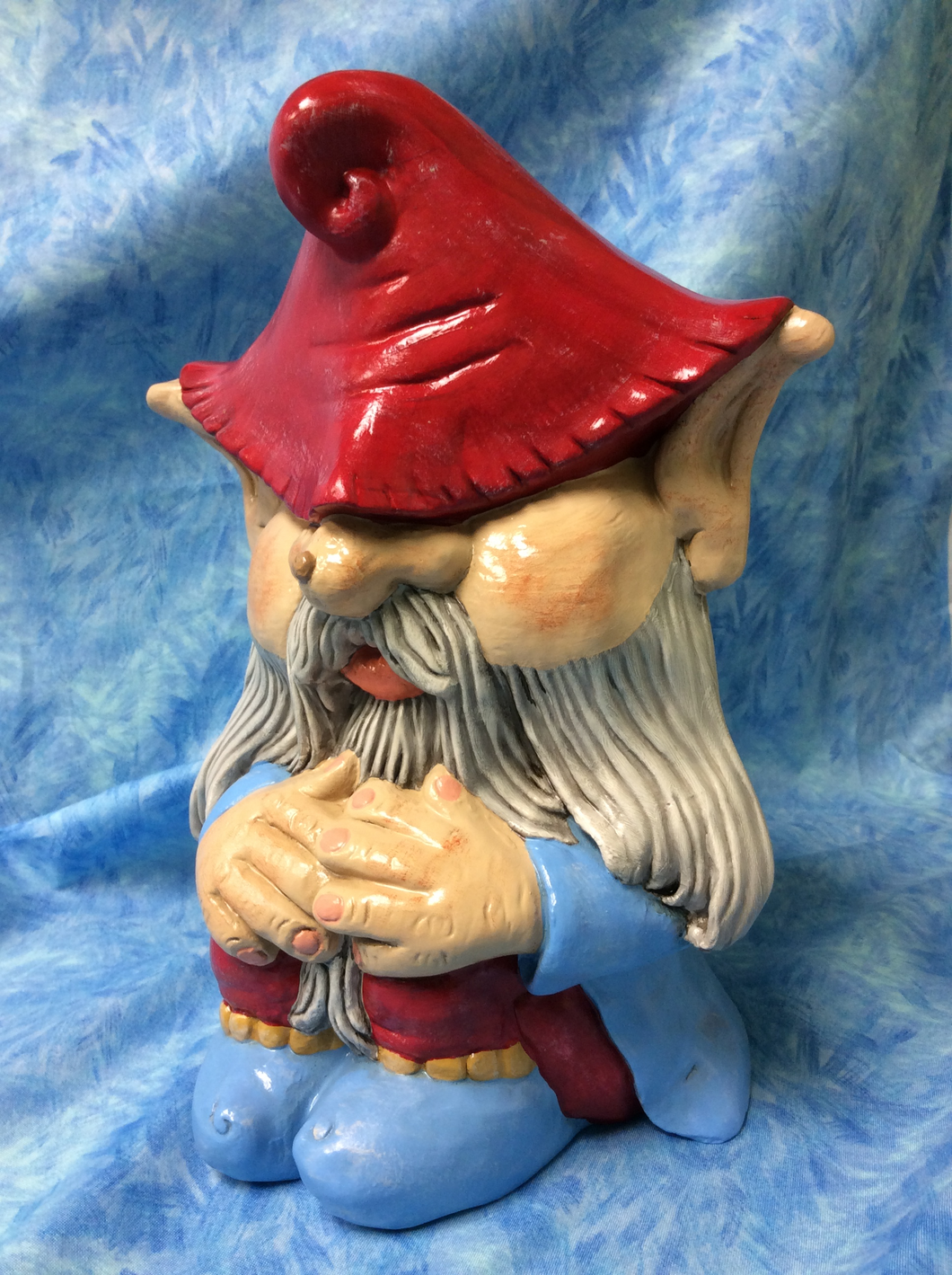Woodland Sleeping Man Gnome