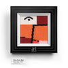 View from Red by Paul Klee colorful art socks artsocks frame