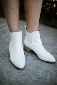 Norway White Bootie