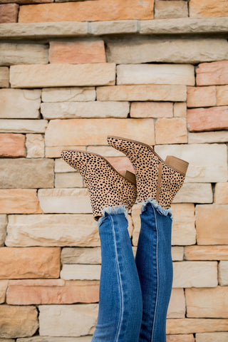 Cheetah Ankle Boots