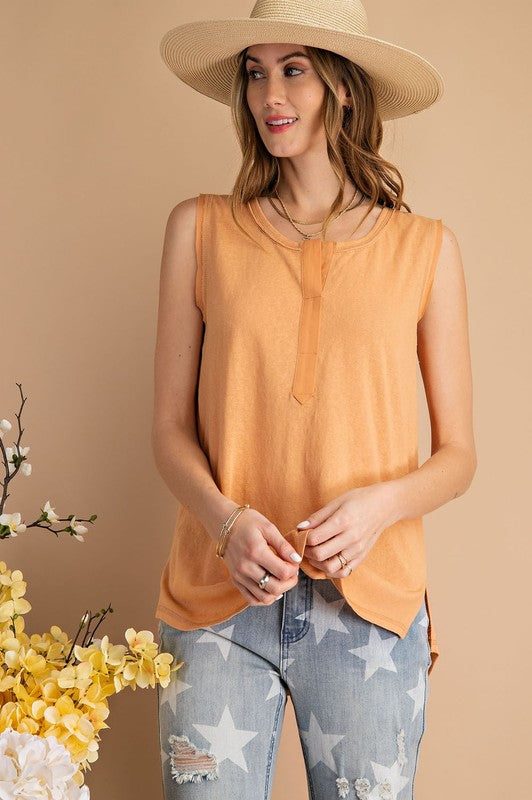 All Day Long Sleeveless Top