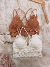 Load image into Gallery viewer, Crochet Lace Bralette