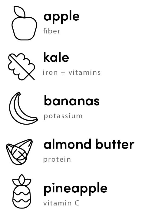 dont kale my vibe ingredients
