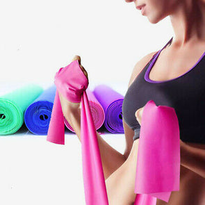 Fitness Exercise Resistance Bands Rubber Yoga