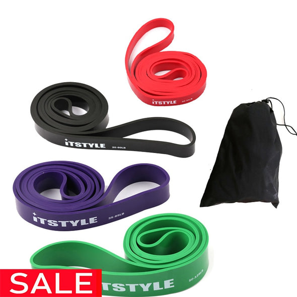 Resistance Bands 208cm Fitness Rubber Pull Up