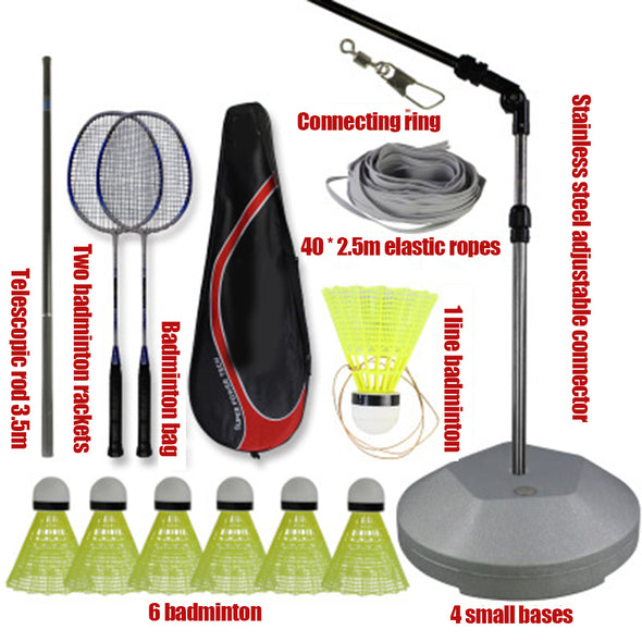 New Elastic Badminton Trainers With Telescopic Rod