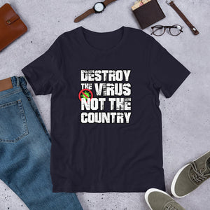 """Destroy the Virus"" Unisex T-Shirt"