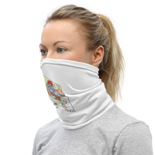 "Load image into Gallery viewer, ""Get Well World"" Neck Gaiter"