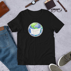 """World Masked"" Unisex T-Shirt"