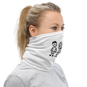 """Stick Family Masked"" Neck Gaiter"