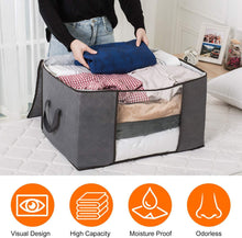 Load image into Gallery viewer, Waterproof Portable Storage Bags for Winter Clothes, Quilts, Blanket etc