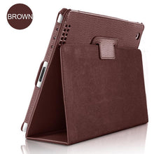 Load image into Gallery viewer, Matte Imitation Leather iPad Cover