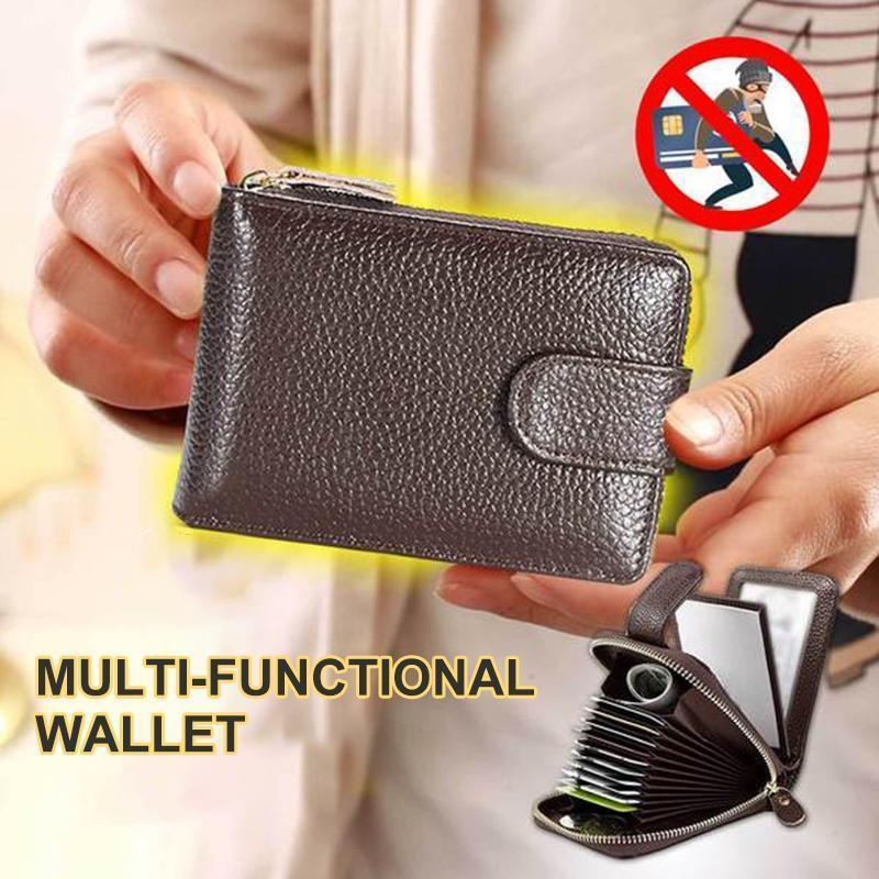 Zippered Multi-Functional Wallet
