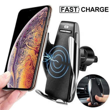 Load image into Gallery viewer, Magic Clip Car Infrared Fast Wireless Charger