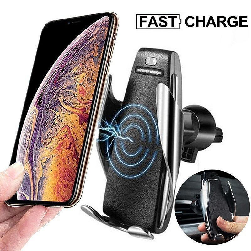 Magic Clip Car Infrared Fast Wireless Charger