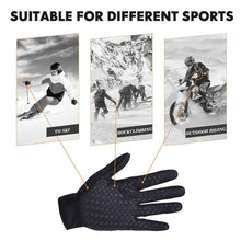 Load image into Gallery viewer, Hirundo Touch Screen Windproof Thermal Gloves