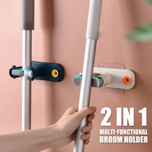 Load image into Gallery viewer, 2 In 1 Multi-functional Broom Holder