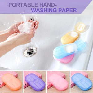 Portable Hand-Washing Paper 5 boxes