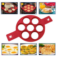 Load image into Gallery viewer, Hirundo Non-stick Silicone Pancake Mold Ring
