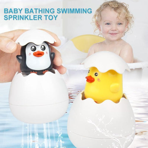 Baby bathing swimming sprinkler toy Easter Egg