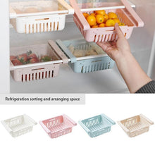Load image into Gallery viewer, Kitchen Storage Refrigerator Partition Storage Rack