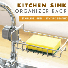 Load image into Gallery viewer, Kitchen Sink Organizer Rack