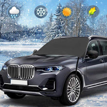Load image into Gallery viewer, Car Windshield Snow Cover, With 2 Adjustable Car Side Mirror Covers