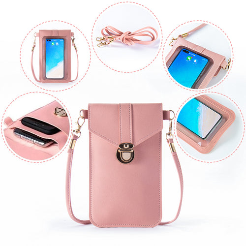 Tendaisy Touchable PU Leather Change Bag