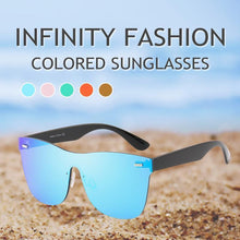 Load image into Gallery viewer, Infinity Fashion Colored Sunglasses