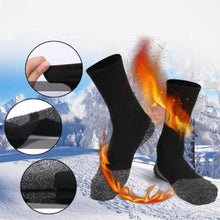 Load image into Gallery viewer, 35 Below Ultimate Comfort Socks, 3 pairs in Black