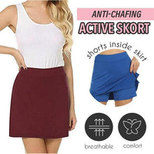 Load image into Gallery viewer, Anti-Chafing Active Skirt