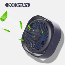 Load image into Gallery viewer, Portable Desktop Table Cooling Fan