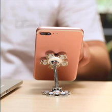 Load image into Gallery viewer, 360 Flower Suction Phone Holder