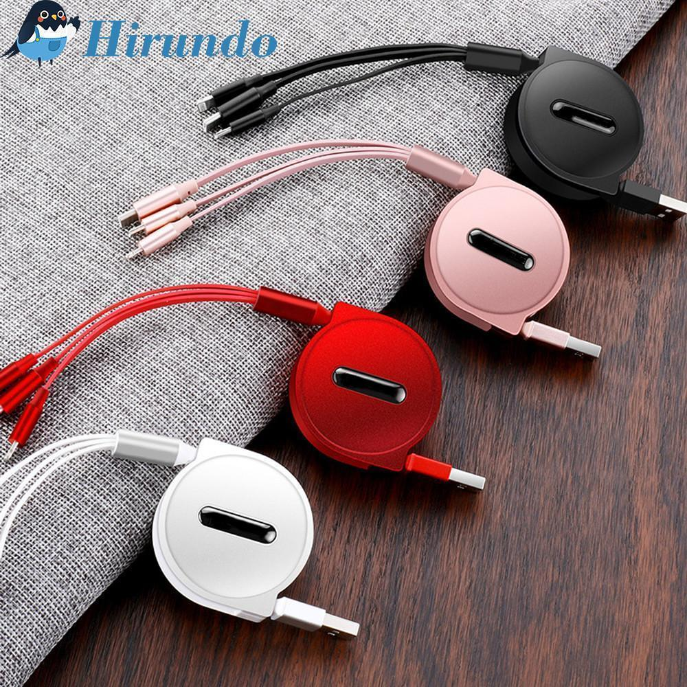 Hirundo 3-in-1 Retractable Charging Cable