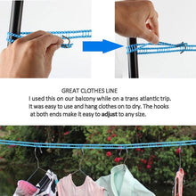 Load image into Gallery viewer, Portable Clothesline for Outdoor & Home