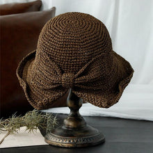 Load image into Gallery viewer, Brim & Bow Summer Hat