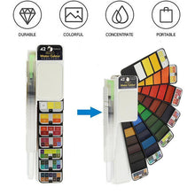 Load image into Gallery viewer, Solid Gouache Pigment Palette - let your creativity speak!