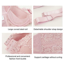 Load image into Gallery viewer, Women Sexy Adjustable Front Buckle Lace Vest Bra