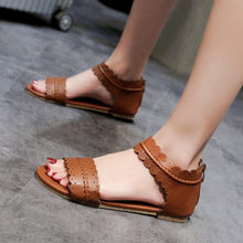 Load image into Gallery viewer, Women Sandals Fashion Flat Roman Shoes