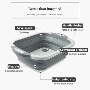 Haloera™ Portable Multi-function Collapsible Dish Tub