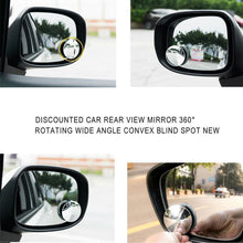 Load image into Gallery viewer, 360° Rotatable Car Blind Spot Mirror