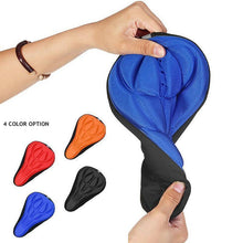 Load image into Gallery viewer, 3D Silicone Soft Bike Seat Saddle Cover