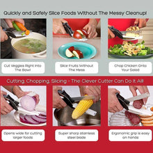 Load image into Gallery viewer, Multifunctional Scissors Food Vegetable Scissors